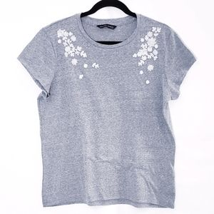 Abercrombie & Fitch Beaded Tee Shirt